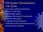 km system development life cycle