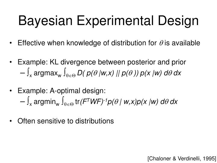 Bayesian Experimental Design