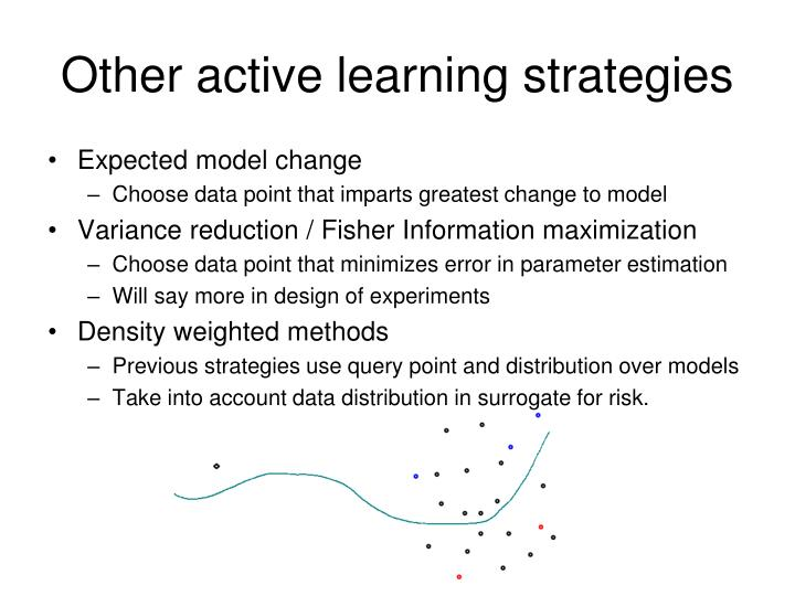 Other active learning strategies