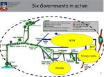 six governments in action