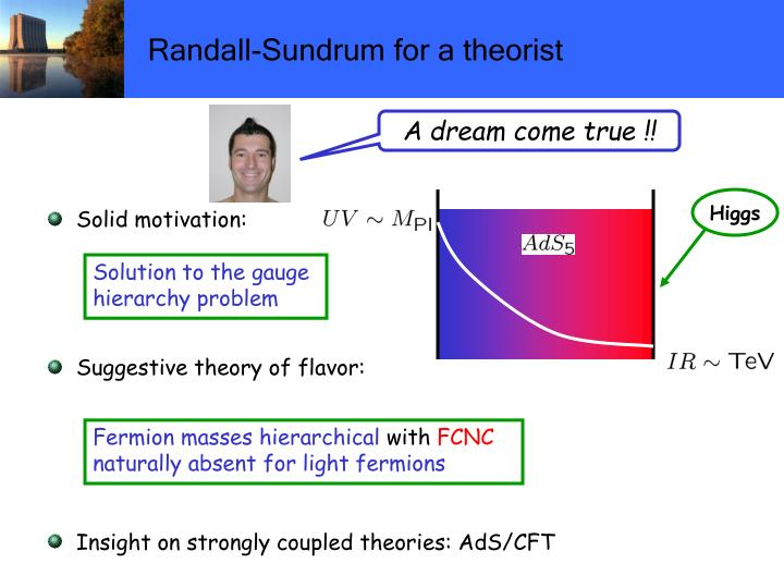 Randall-Sundrum for a theorist