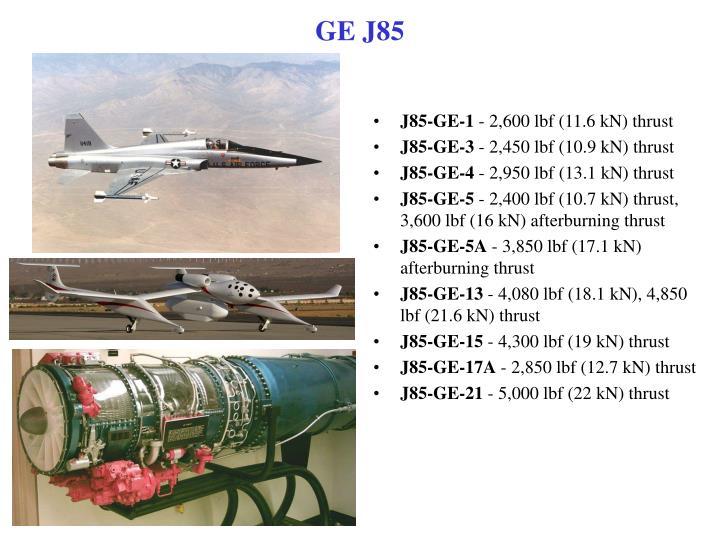J85-GE-1