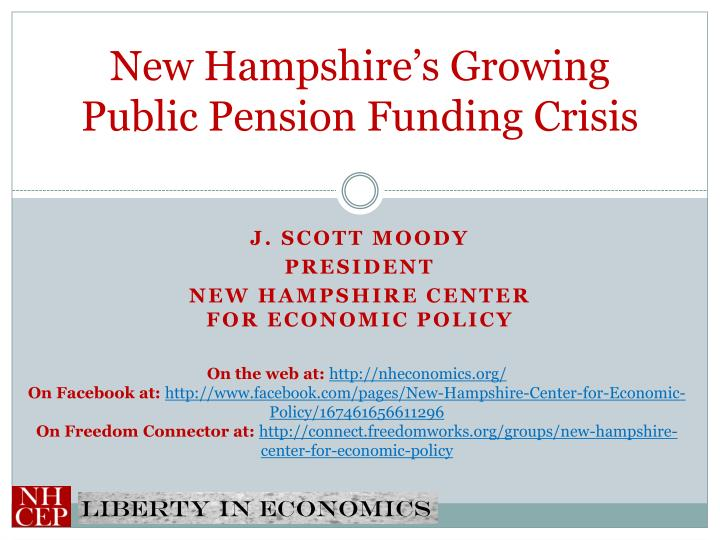 New hampshire s growing public pension funding crisis