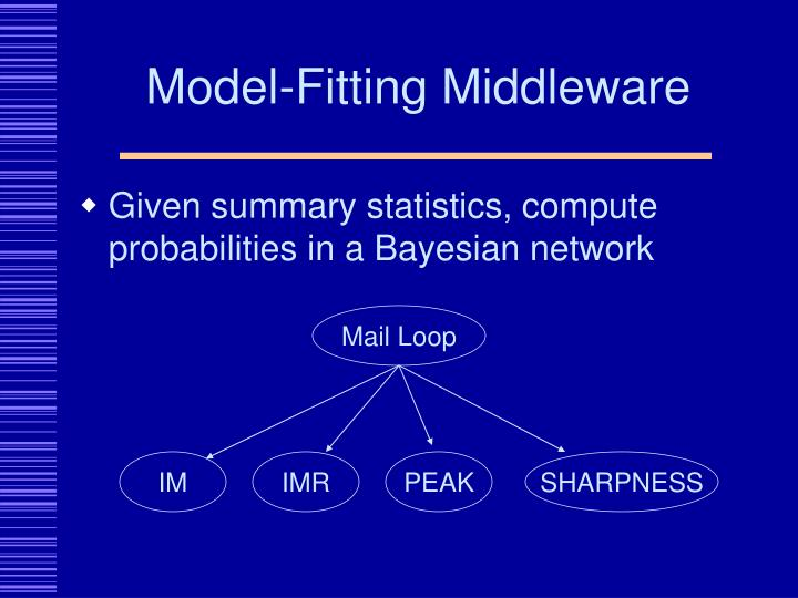Model-Fitting Middleware