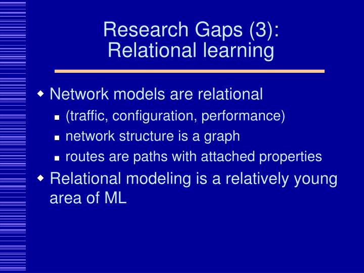 Research Gaps (3):