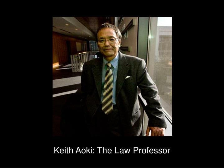 Keith Aoki: The Law Professor