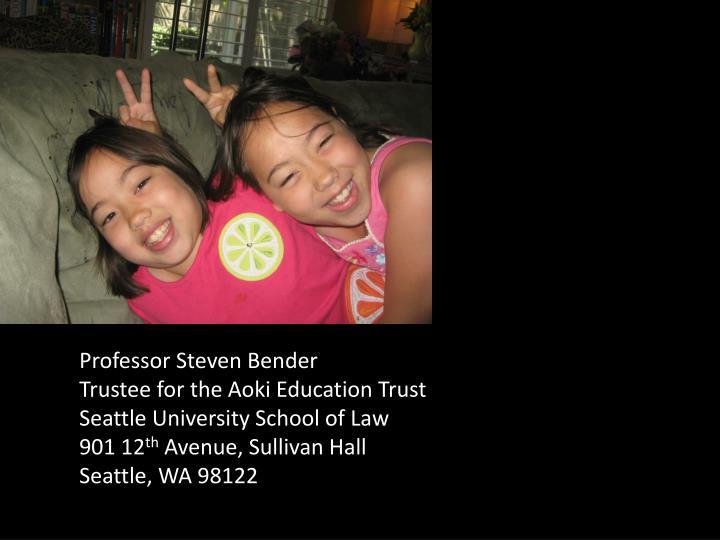 Professor Steven Bender