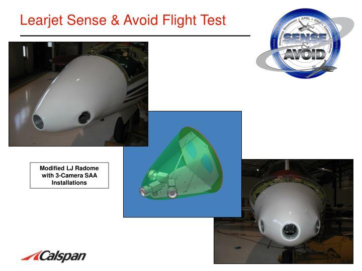 Learjet Sense & Avoid Flight Test