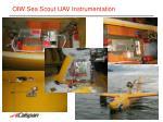 oiw sea scout uav instrumentation1