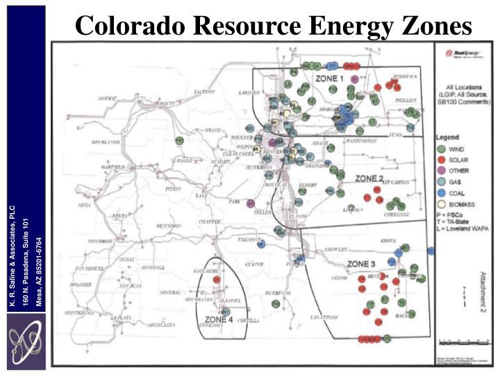 Colorado Resource Energy Zones