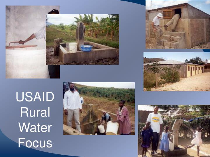 USAID Rural Water Focus