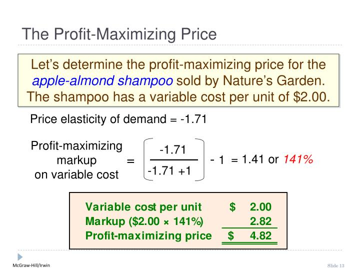how is price determined in each market structure in terms of maximizing profits The next type of marketing structure is an oligopoly in which there are several large producers in which case they are price leaders they have a large say in how the price is going to be structured but at the end of the day they are still constrained by what people are willing to pay.