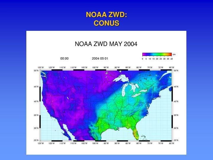NOAA ZWD: