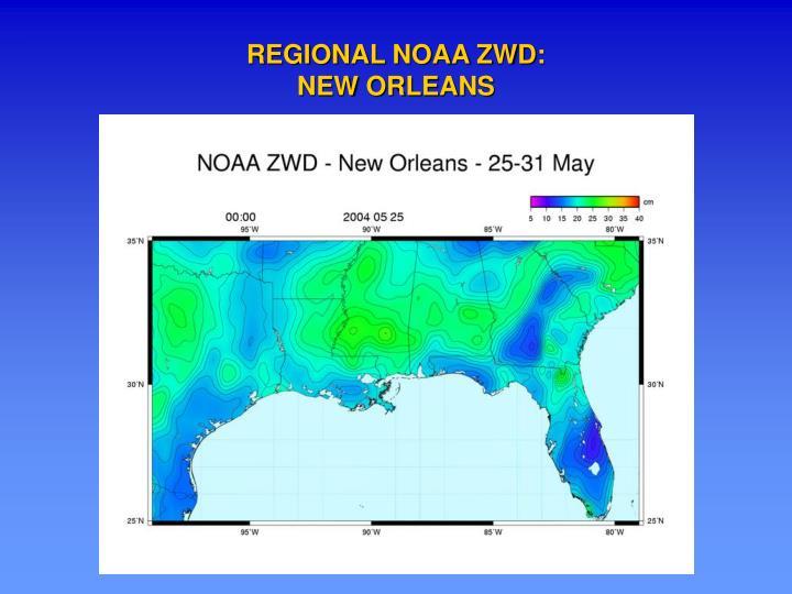 REGIONAL NOAA ZWD: