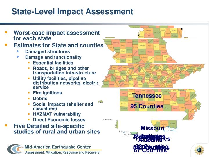 State level impact assessment