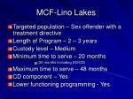 mcf lino lakes