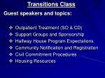 transitions class1