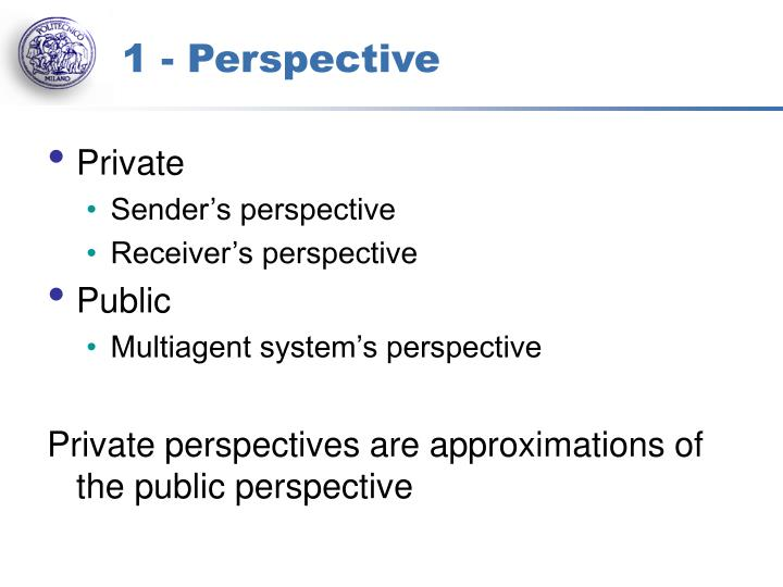 1 - Perspective