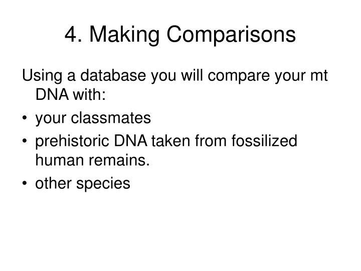 4. Making Comparisons