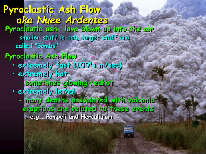 Pyroclastic Ash Flow
