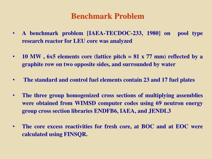 Benchmark Problem
