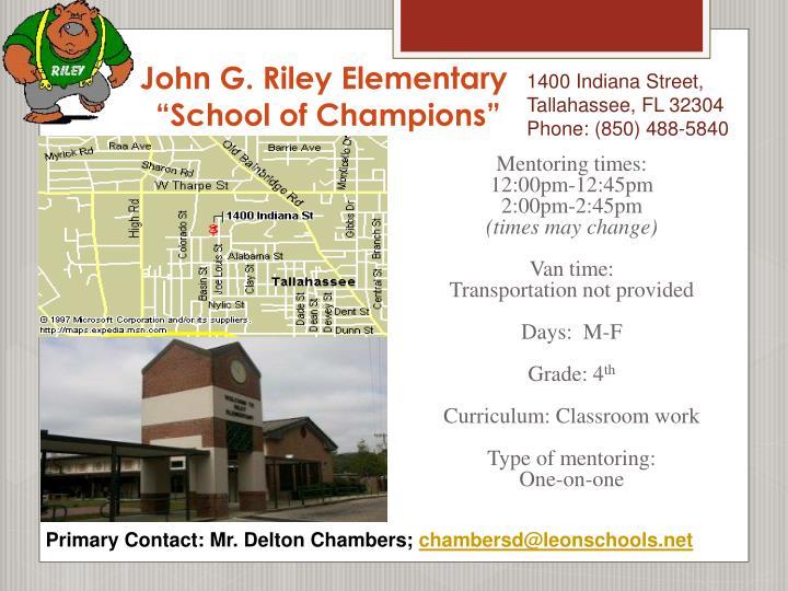 John G. Riley Elementary