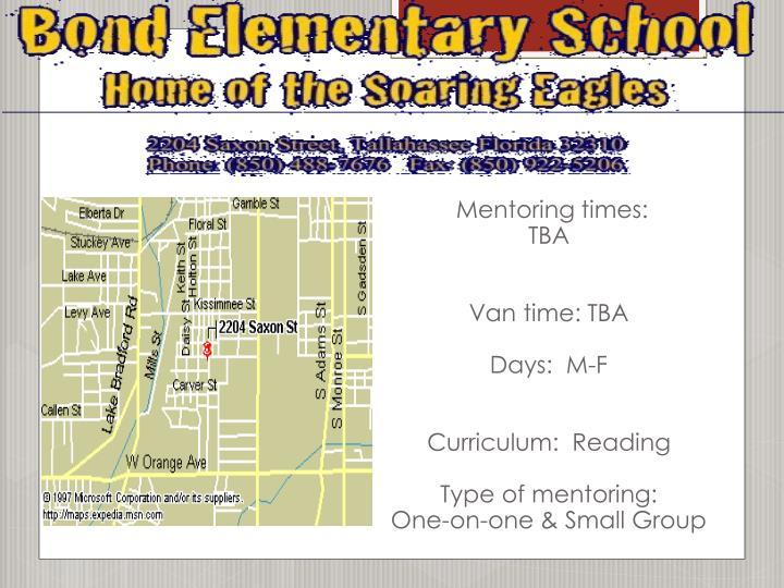 Mentoring times: