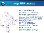 large hpp projects