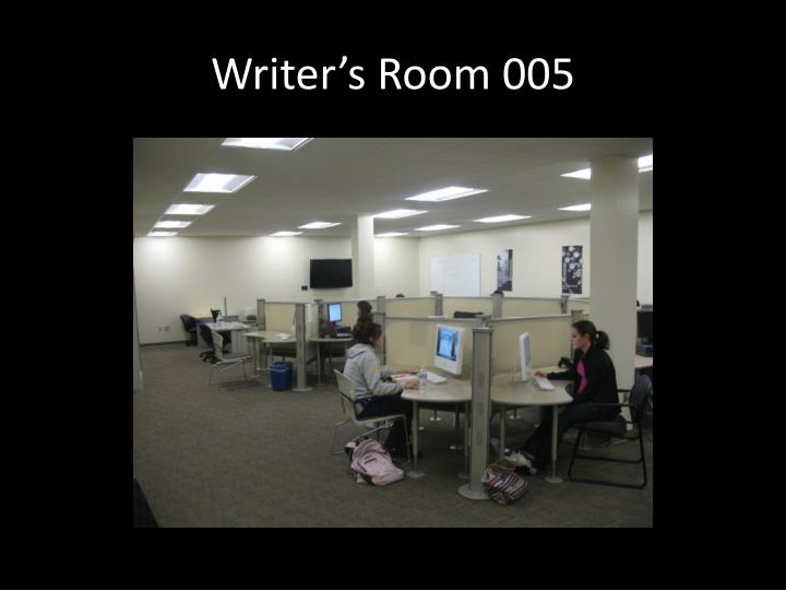 Writer's Room 005
