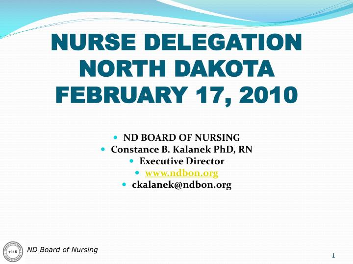 delegation in nursing essay The registered nurse (rn) must delegate care of an assigned client to an unlicensed assistive person (uap) for the shift which client would be best to delegate to.