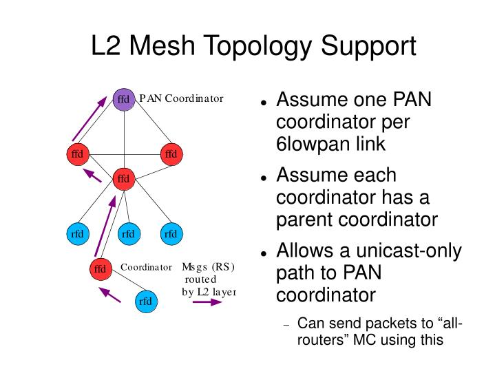 L2 Mesh Topology Support