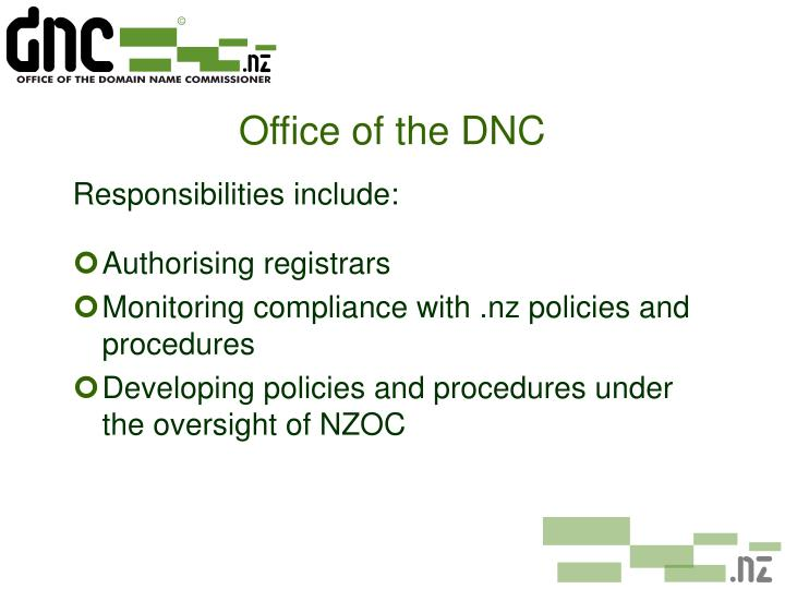 Office of the DNC