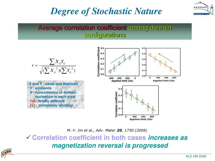 Degree of Stochastic Nature