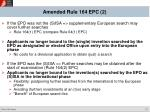 amended rule 164 epc 2