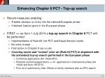 enhancing chapter ii pct top up search