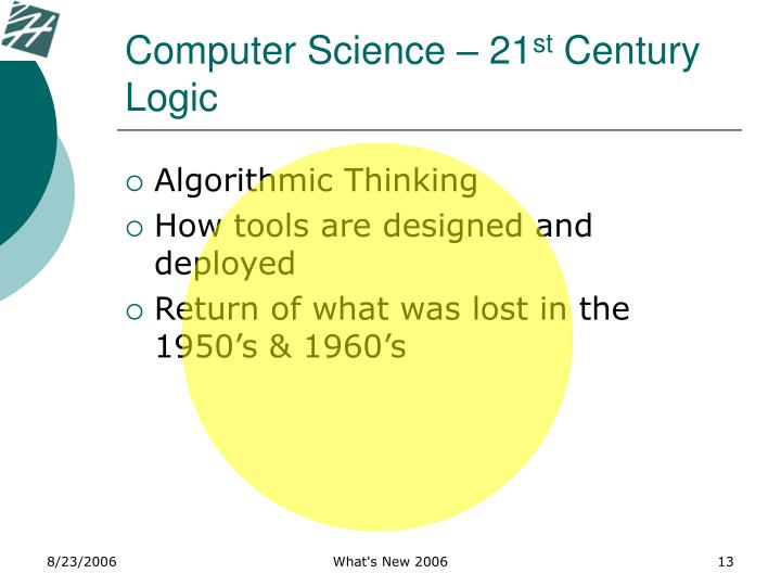 Computer Science – 21