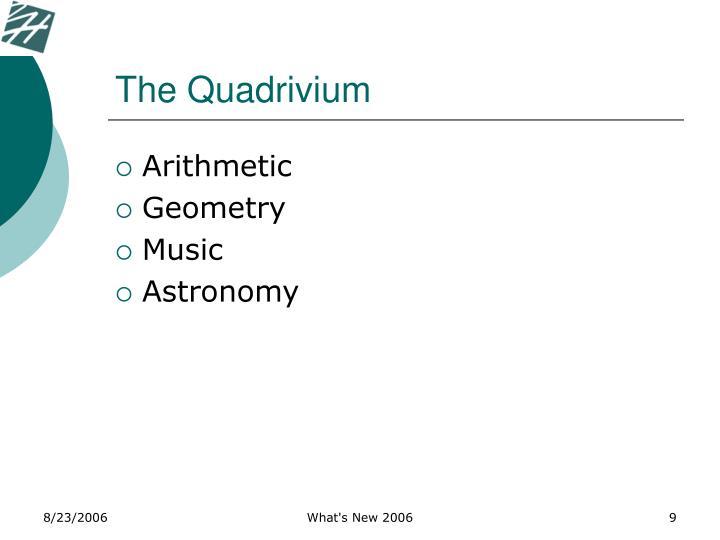 The Quadrivium