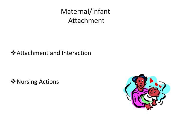 Maternal/Infant