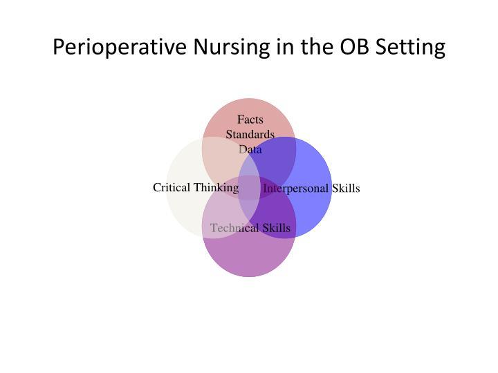 Perioperative Nursing in the OB Setting