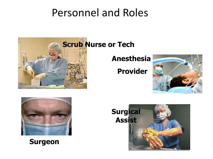 Personnel and Roles
