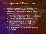 component designer