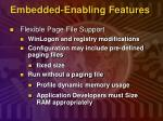 embedded enabling features4