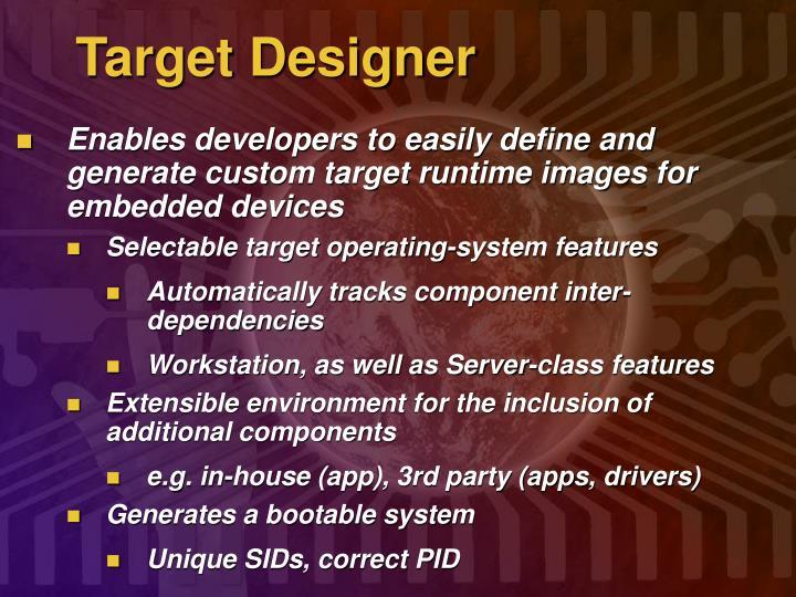 Target Designer