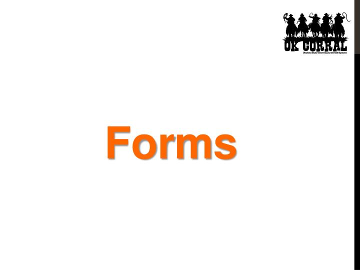 Forms