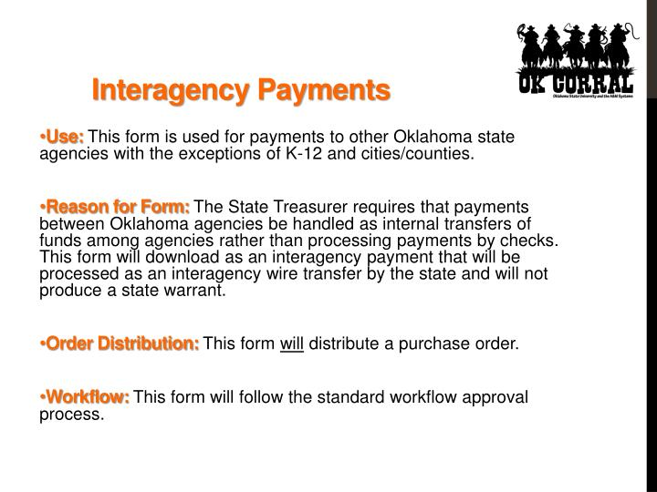 Interagency Payments