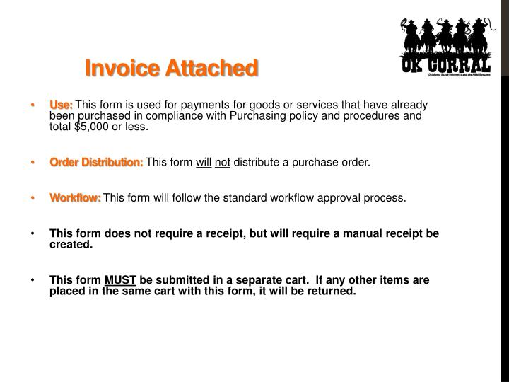 Invoice Attached