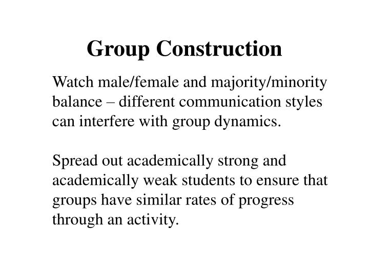 Group Construction