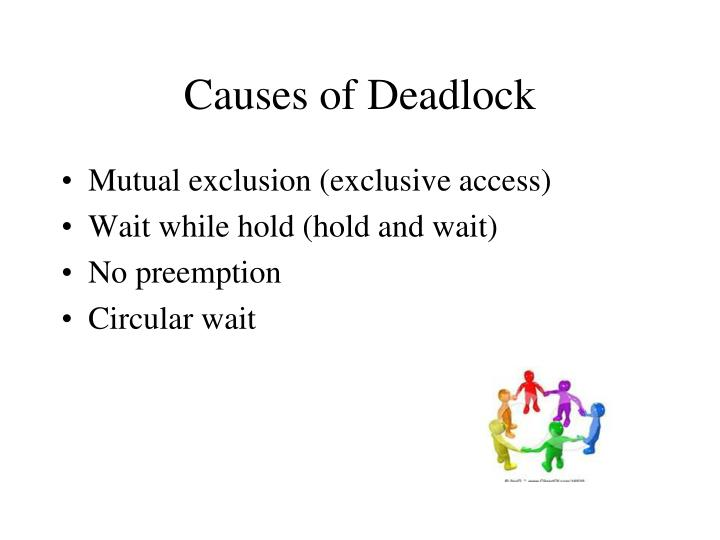 Causes of Deadlock