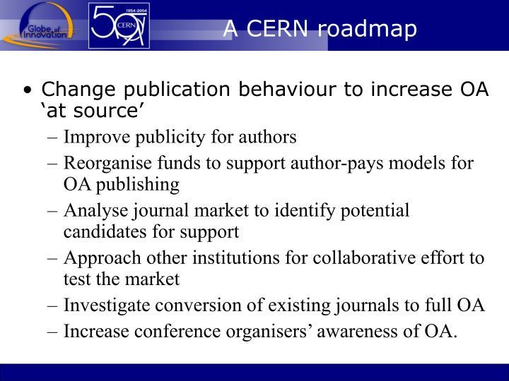 A CERN roadmap
