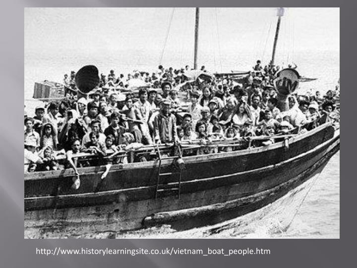 http://www.historylearningsite.co.uk/vietnam_boat_people.htm